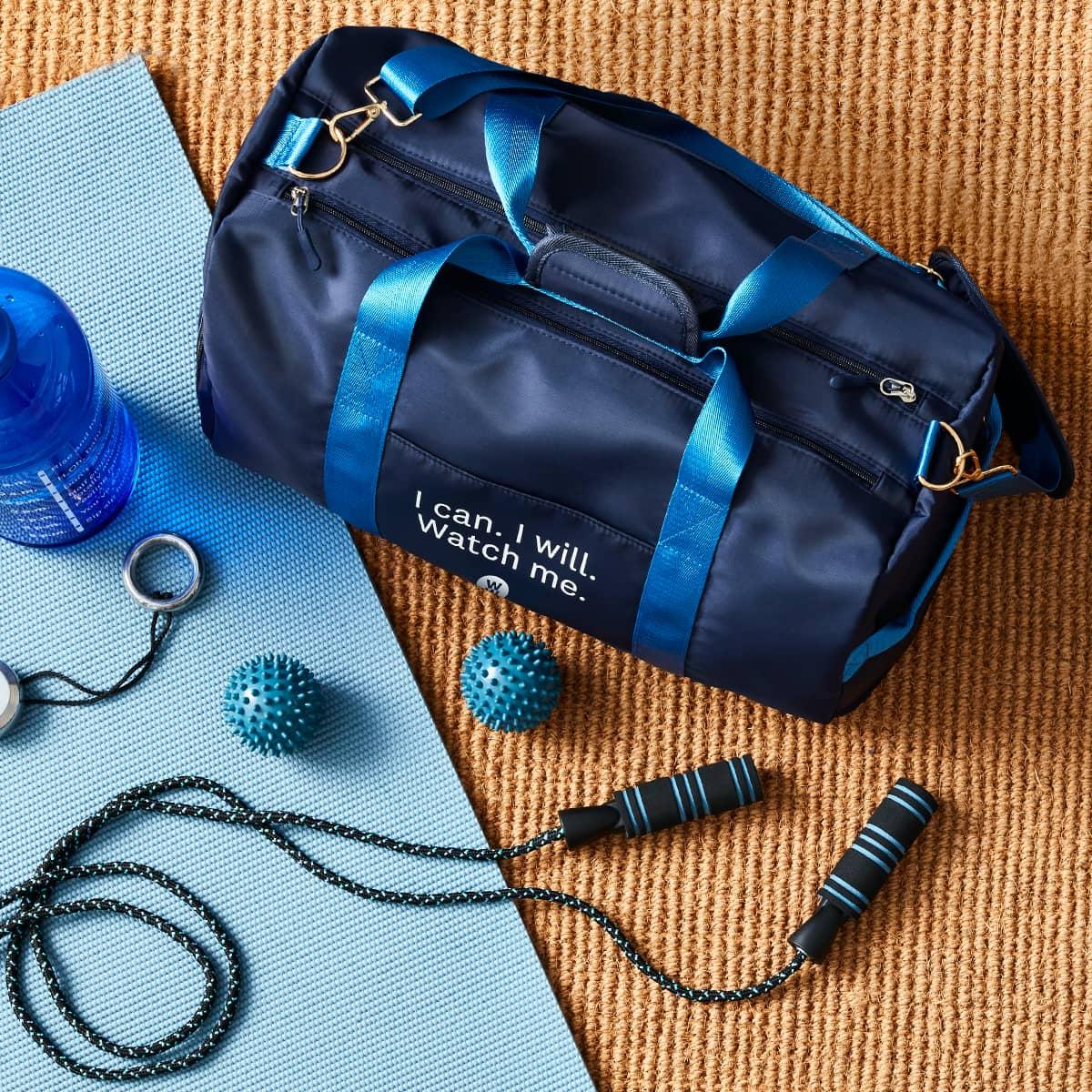 I can I will Watch Me Gym Bag - WW Gym Bag - lifestyle