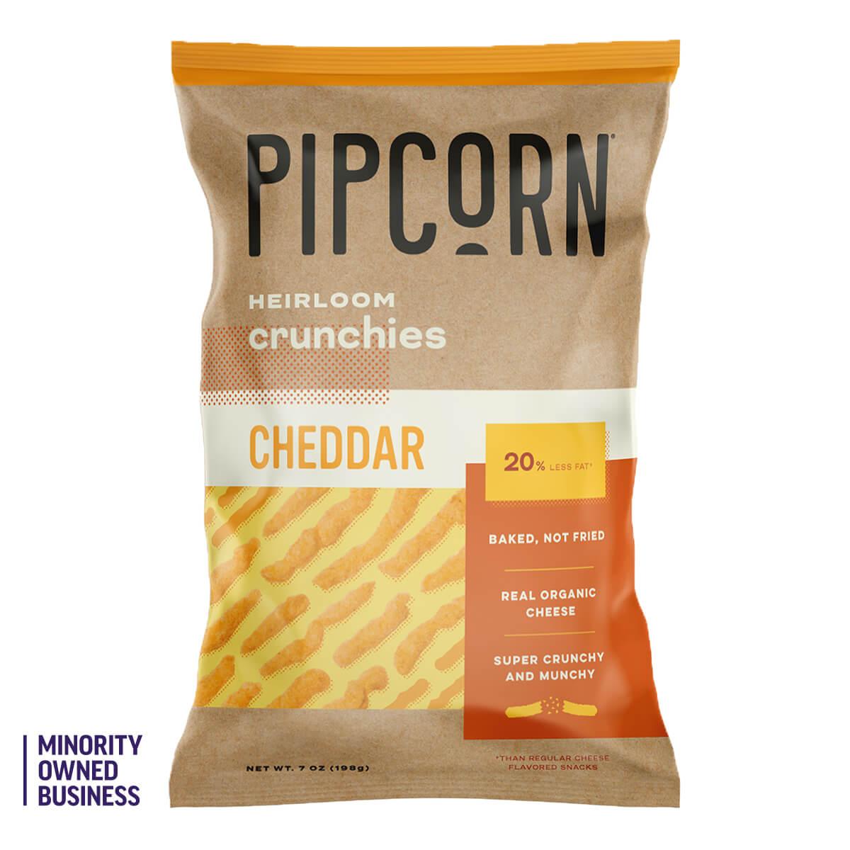 Pipcorn Cheddar Crunchies