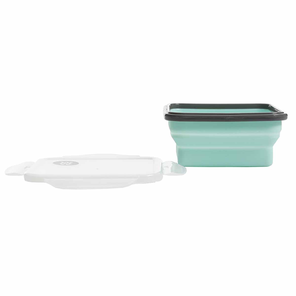 3-Piece Collapsible Silicone Lunch Containers - alternate view 2