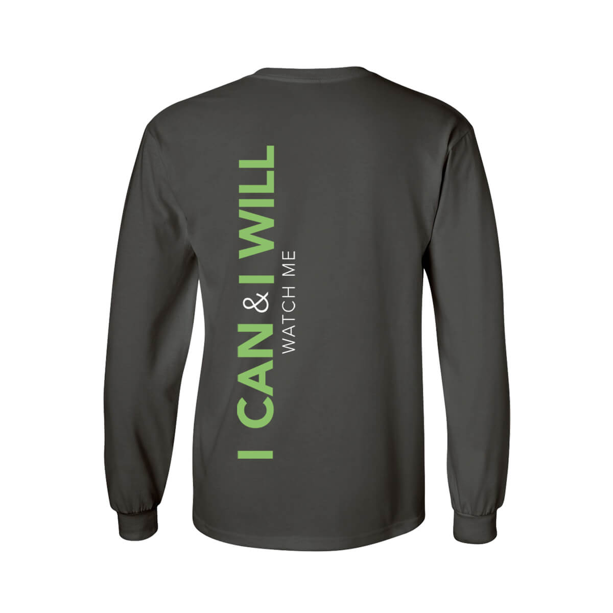 Crewneck Long Sleeve Tee - back