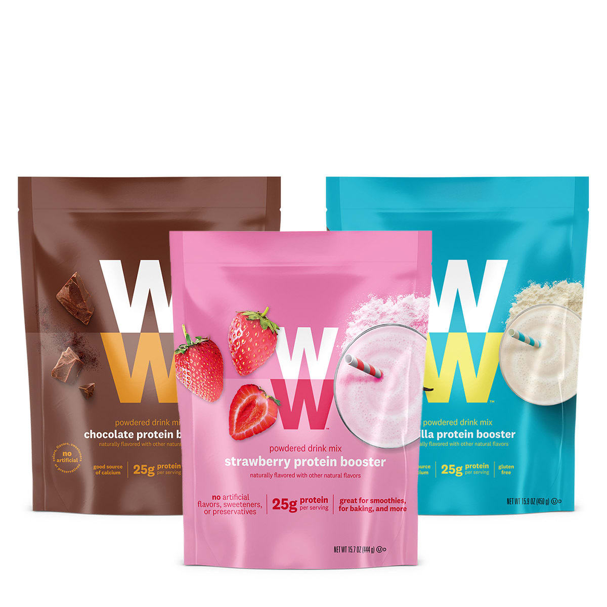 Protein Booster Variety Pack