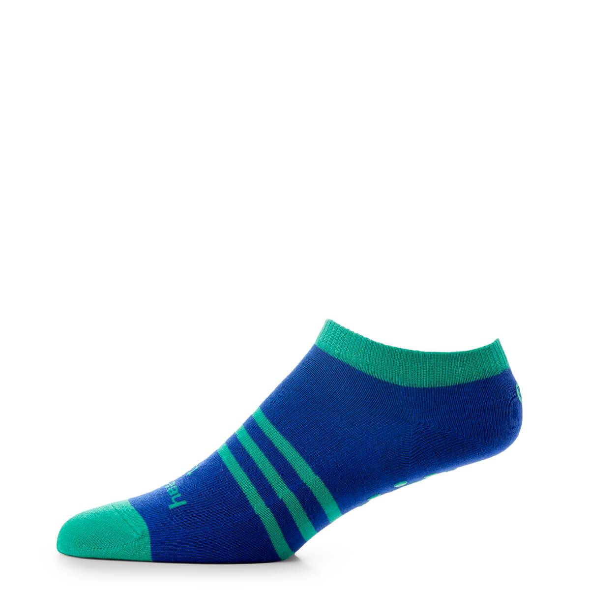 No Show Socks Green - side