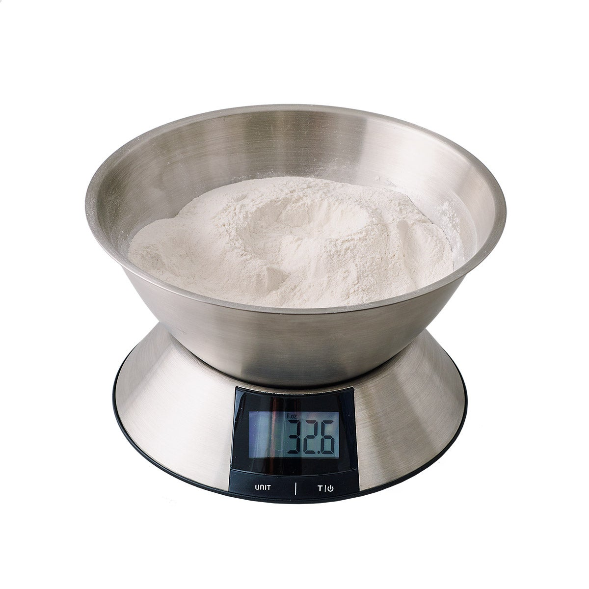 "5.43"" Digital Scale w/ Removable Bowl"