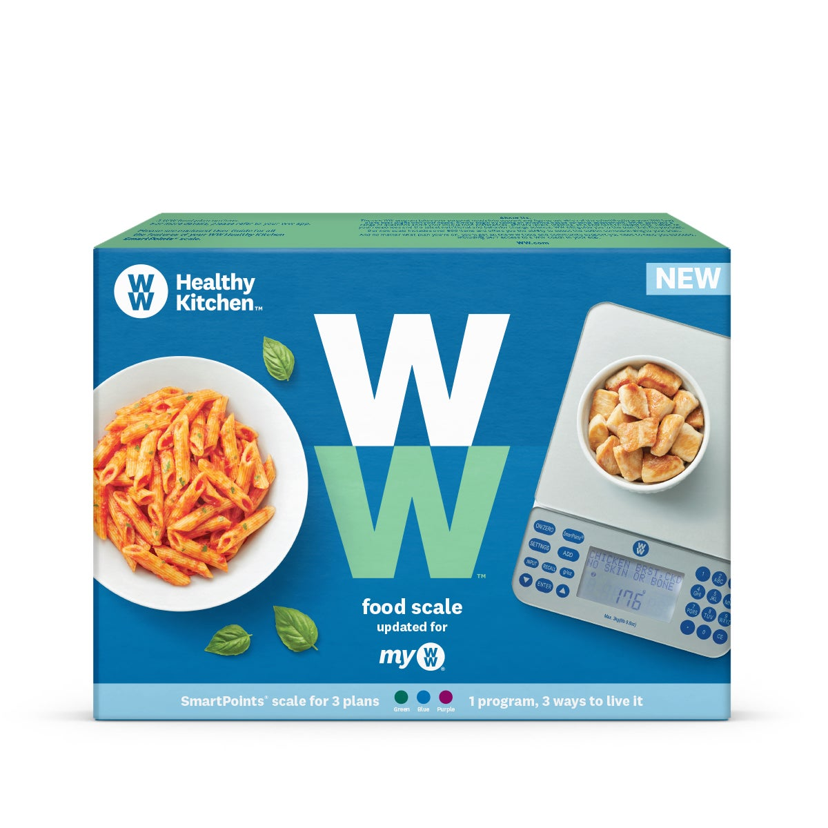 myWW Food Scale box front