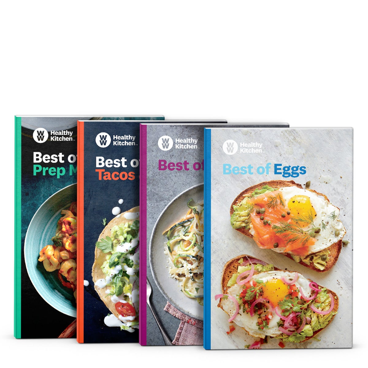 Best of WW Mini Cookbook Bundle (Set of 4)