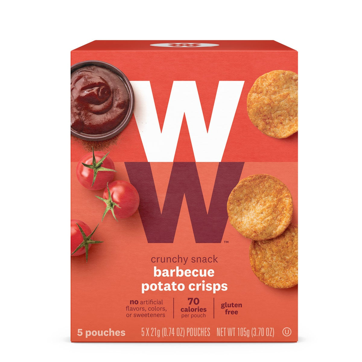 Barbecue Potato Crisps - Pack of 24