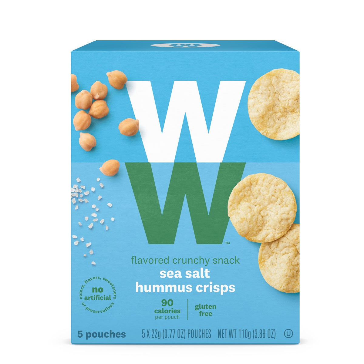 Sea Salt Hummus Crisps