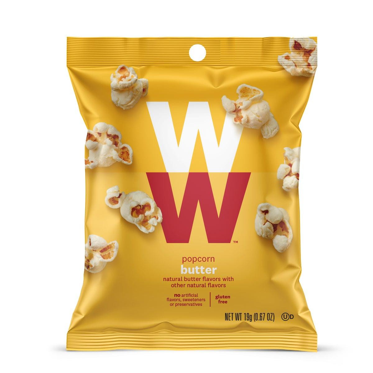 Butter Popcorn - Pack of 6 Weight Watchers | WW