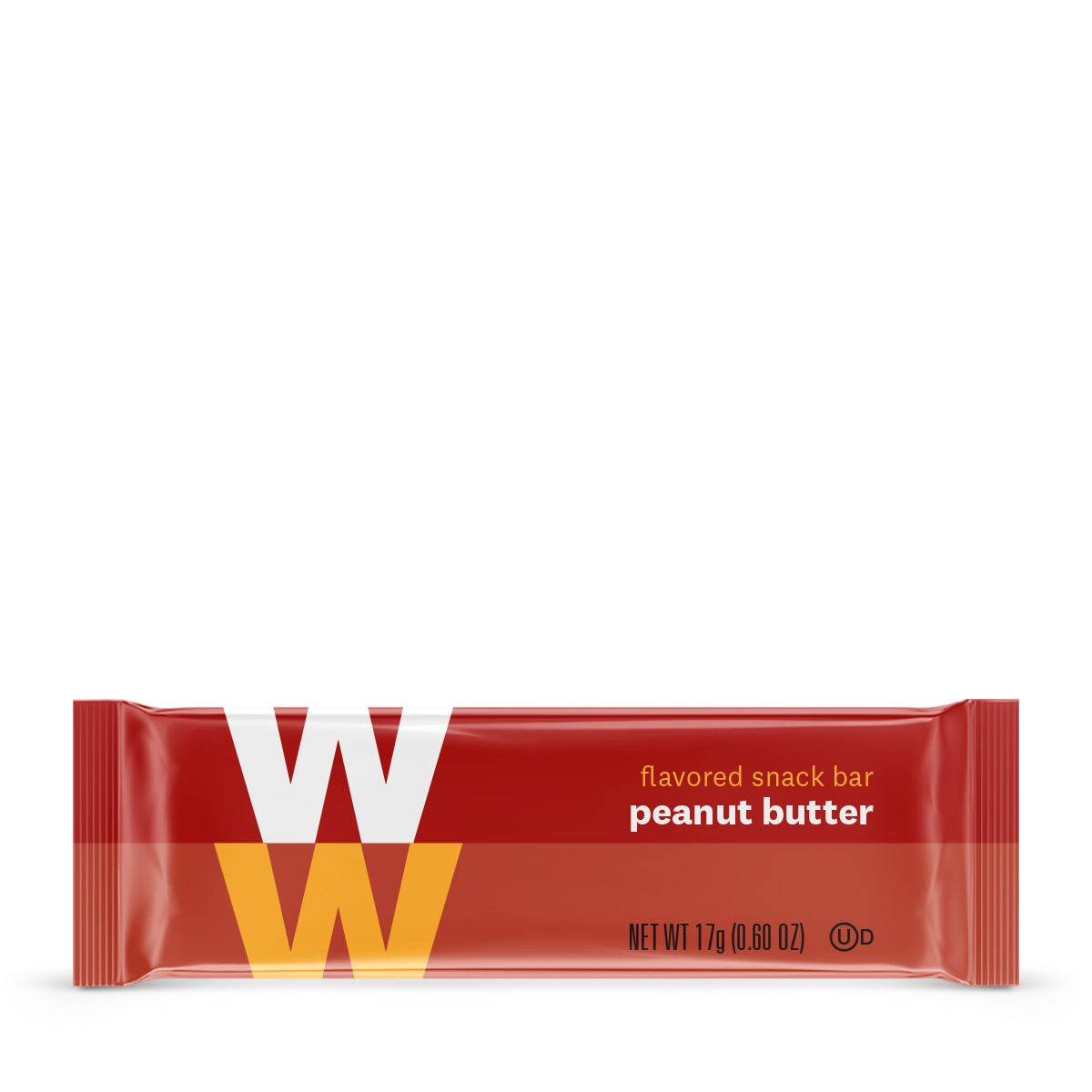 peanut butter mini bar - wrapper front