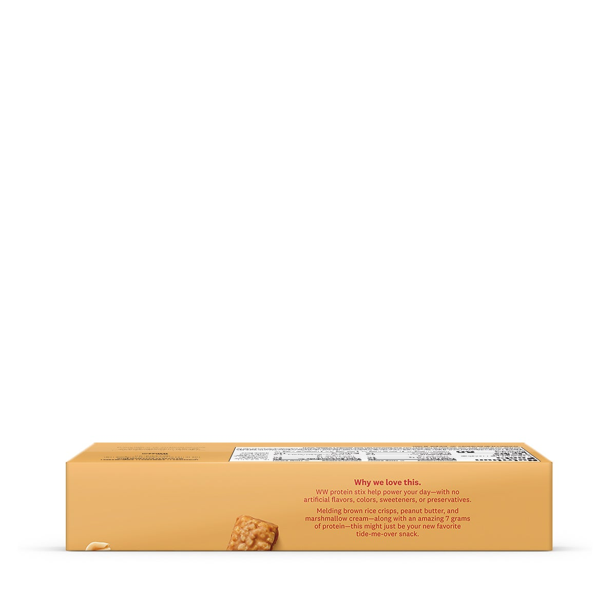 Peanut Butter Protein Stix - side of box 2