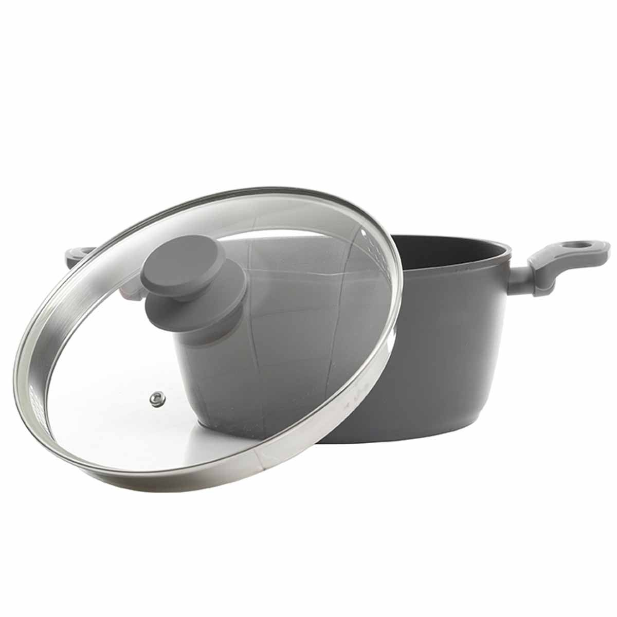 Nonstick Aluminum Dutch Oven with Lid - alternate view 2