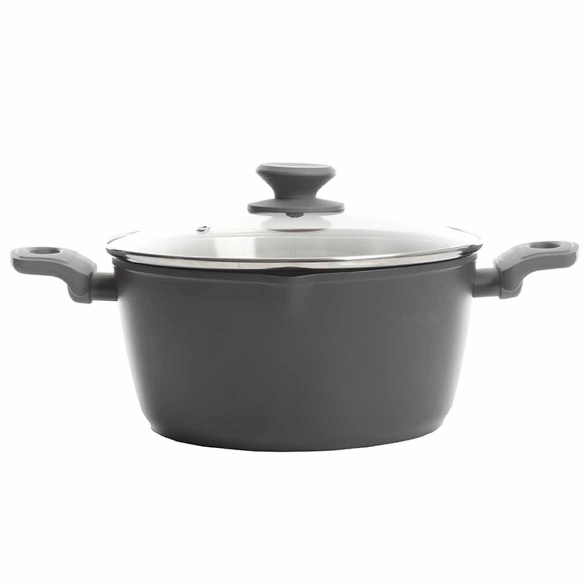 Nonstick Aluminum Dutch Oven with Lid