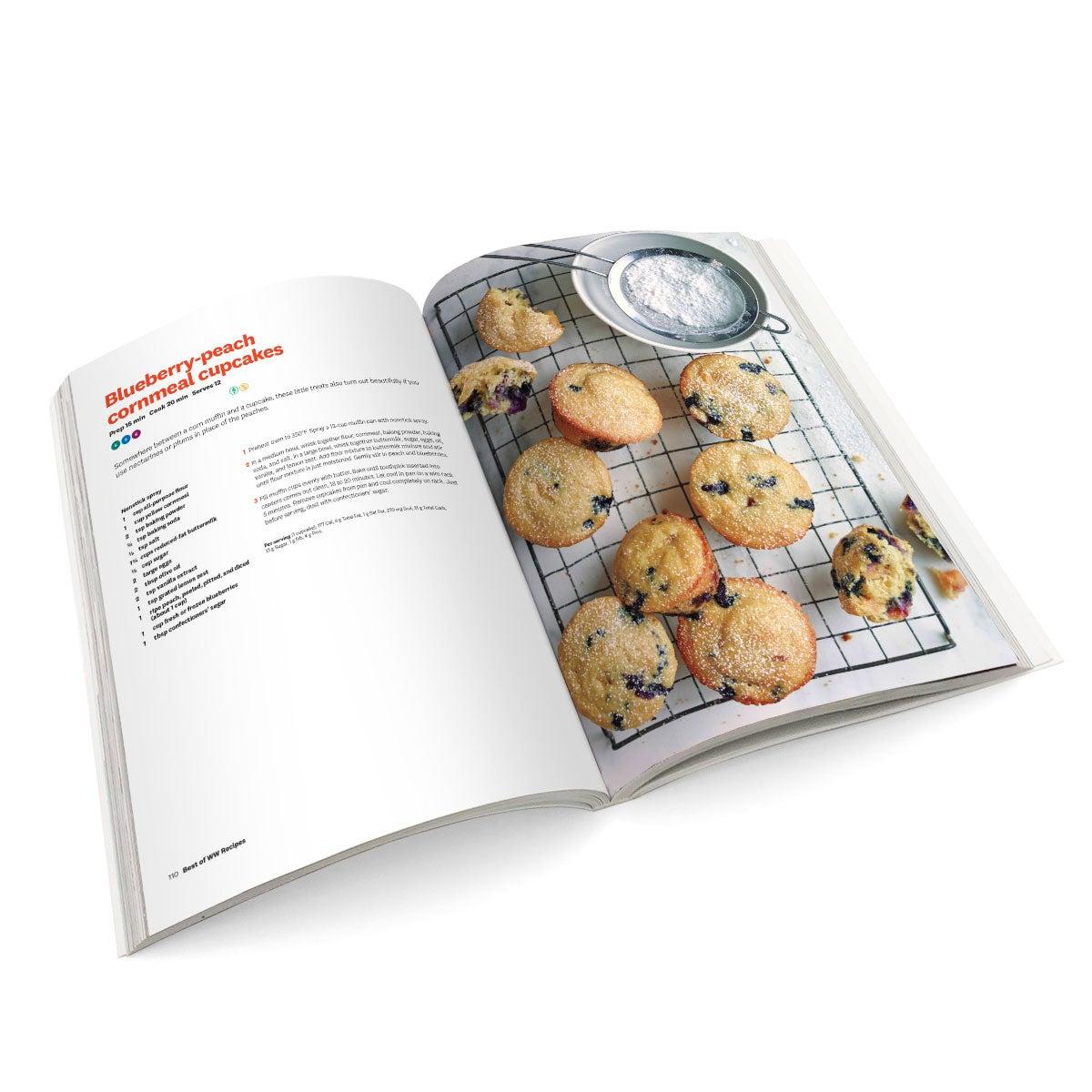 Best of WW Recipes Cookbook - Open Spread 2