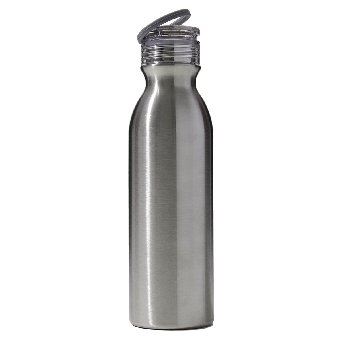 silver hydration bottle - diagonal