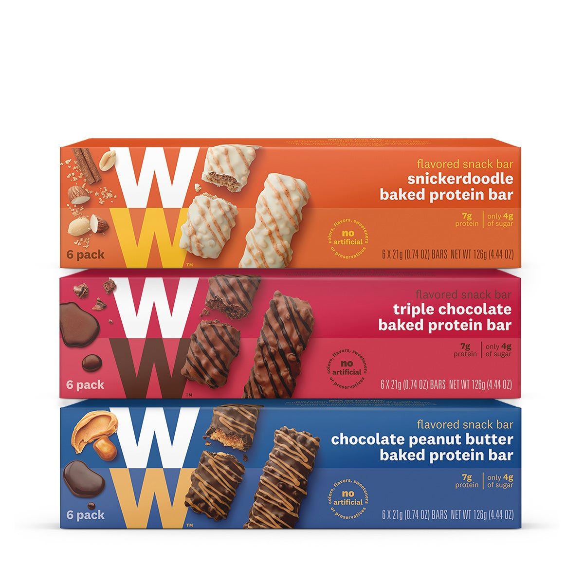 Baked Protein Bar Three Pack