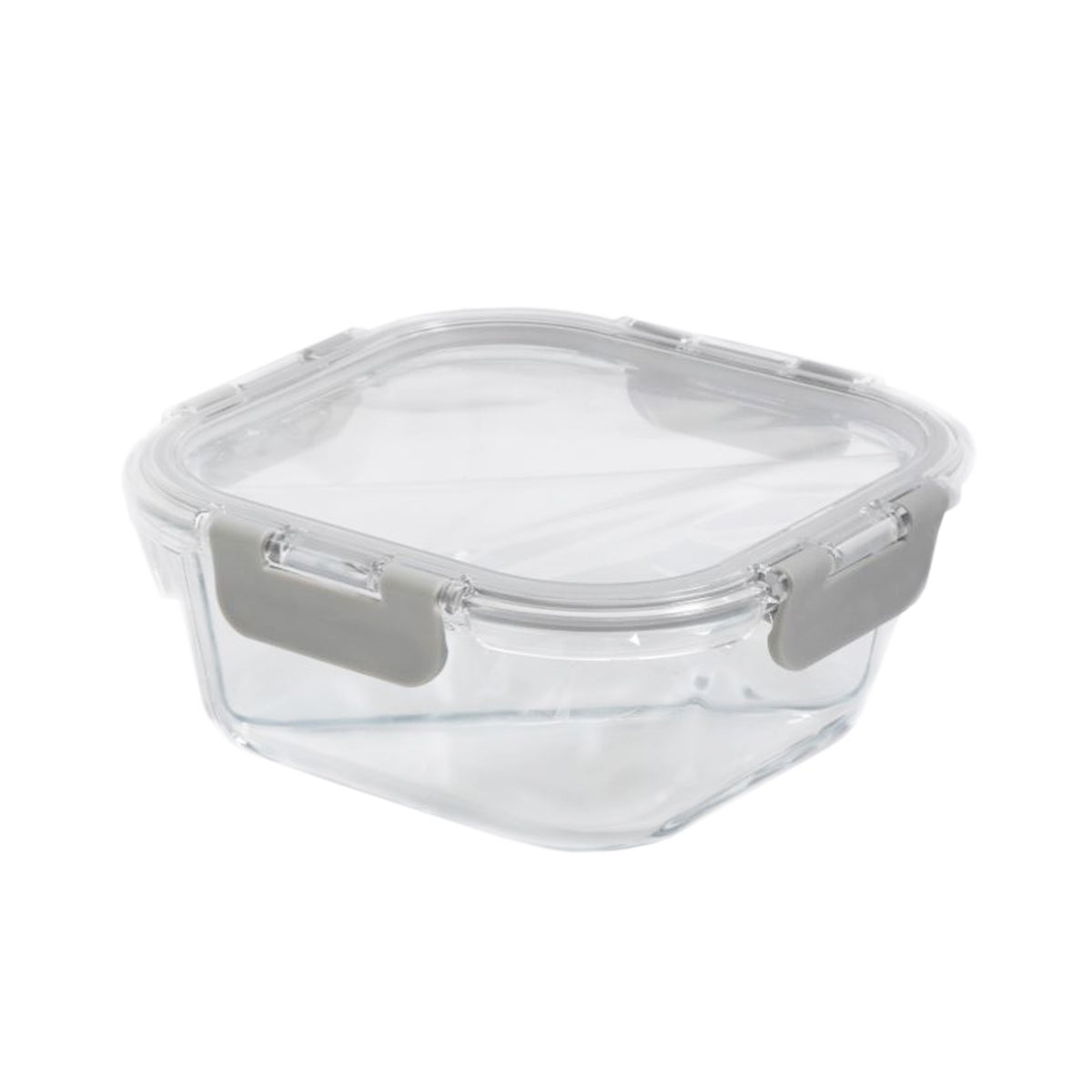 """Portion Control Lunch Container w/ Dividers (6"""" x 2.5"""")"""